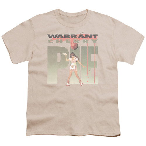 Image for Warrant Youth T-Shirt - Cherry Pie