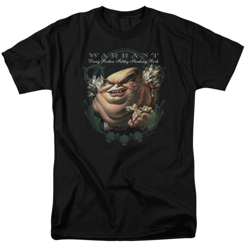 Image for Warrant T-Shirt - Stinking Rich