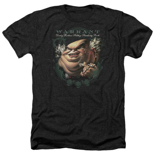 Image for Warrant Heather T-Shirt - Stinking Rich