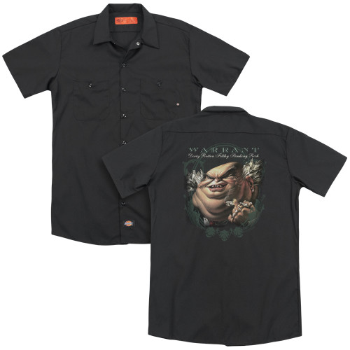 Image for Warrant Dickies Work Shirt - Stinking Rich