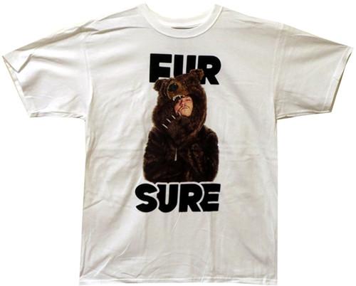 Image Closeup for Workaholics Fur Sure T-Shirt