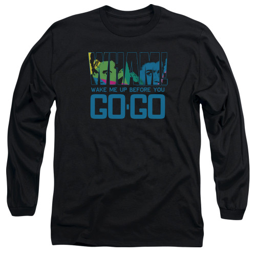 Image for Wham! Long Sleeve Shirt - Wake Me Up Before You Go Go