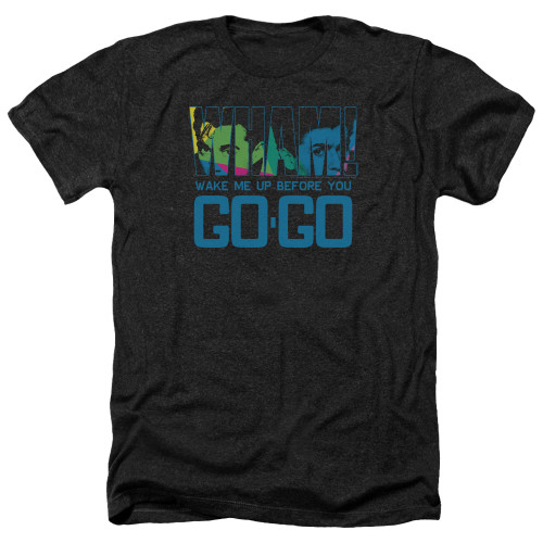 Image for Wham! Heather T-Shirt - Wake Me Up Before You Go Go