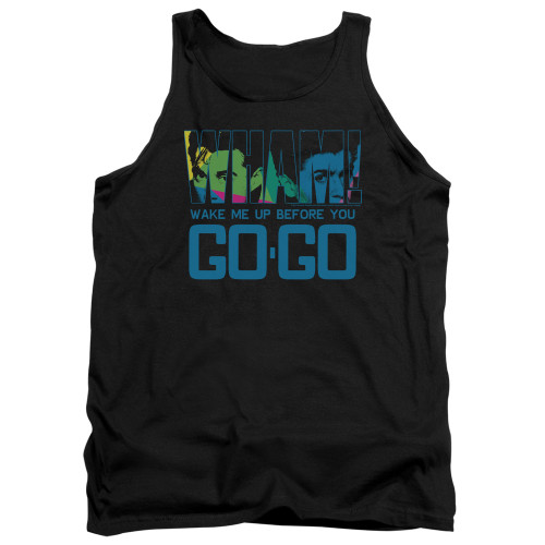 Image for Wham! Tank Top - Wake Me Up Before You Go Go