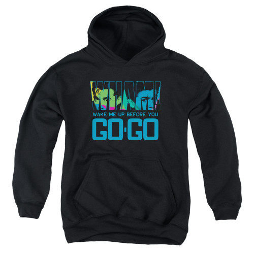 Image for Wham! Youth Hoodie - Wake Me Up Before You Go Go