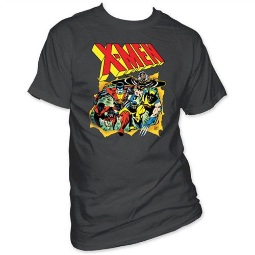 Image Closeup for X Men T-Shirt - Breakthrough