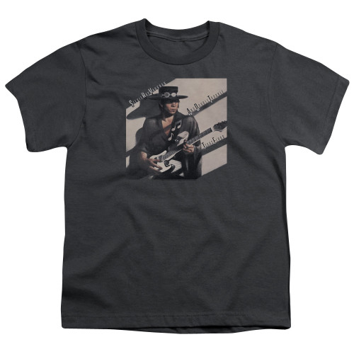 Image for Stevie Ray Vaughan Youth T-Shirt - Texas Flood