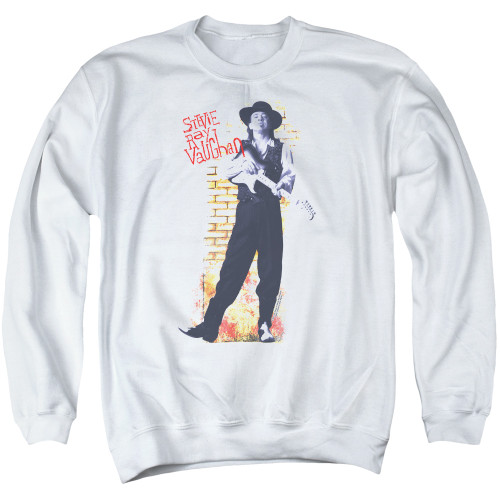 Image for Stevie Ray Vaughan Crewneck - Standing Tall