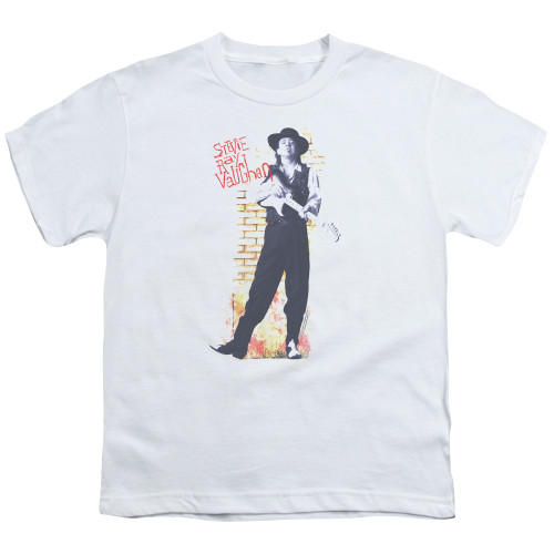 Image for Stevie Ray Vaughan Youth T-Shirt - Standing Tall