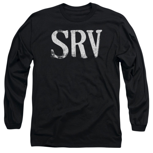 Image for Stevie Ray Vaughan Long Sleeve Shirt - SRV