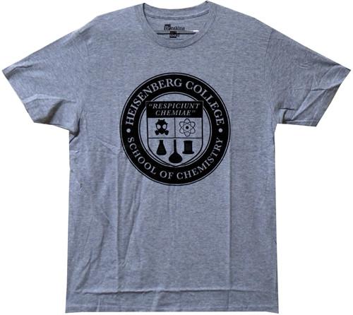 Image Closeup for Breaking Bad T-Shirt - Heisenberg College Logo