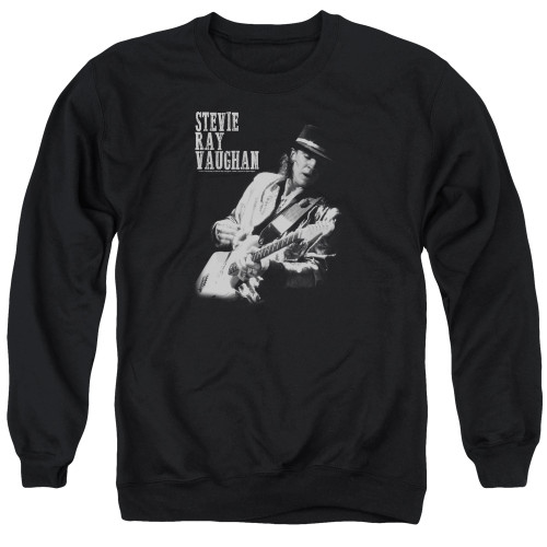 Image for Stevie Ray Vaughan Crewneck - Live Alive