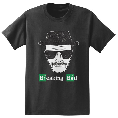 Image for Breaking Bad T-Shirt - Heisenberg Sketch