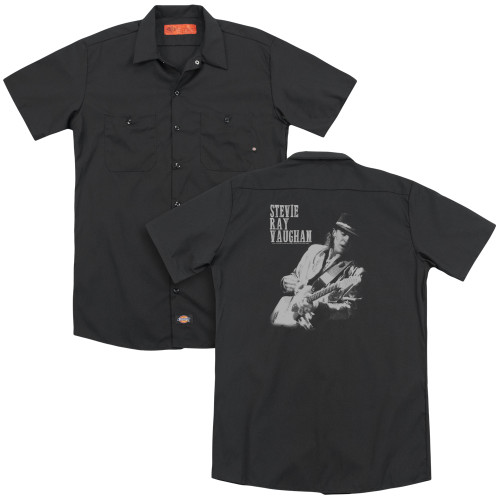 Image for Stevie Ray Vaughan Dickies Work Shirt - Live Alive