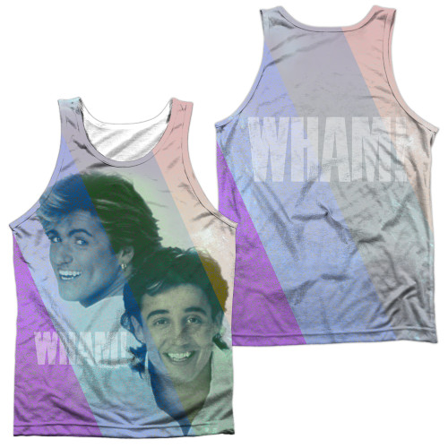 Image for Wham! Sublimated Tank Top - Pastel Lines