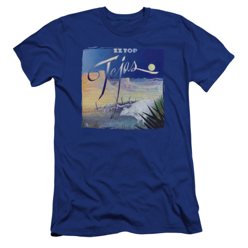 Image for ZZ Top Premium Canvas Premium Shirt - Tejas