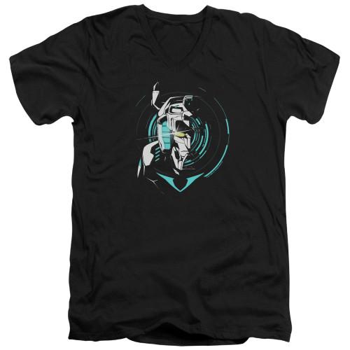 Image for Voltron: Legendary Defender V Neck T-Shirt - Defender Noir
