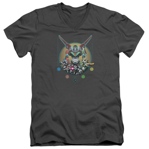 Image for Voltron: Legendary Defender V Neck T-Shirt - Assemble
