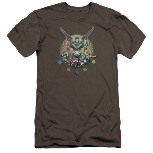 Image for Voltron: Legendary Defender Premium Canvas Premium Shirt - Assemble