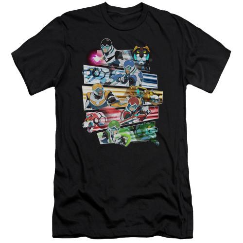 Image for Voltron: Legendary Defender Premium Canvas Premium Shirt - Paladins Strike