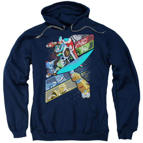 Image for Voltron: Legendary Defender Hoodie - Crisscross
