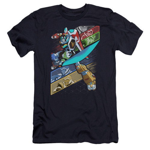 Image for Voltron: Legendary Defender Premium Canvas Premium Shirt - Crisscross