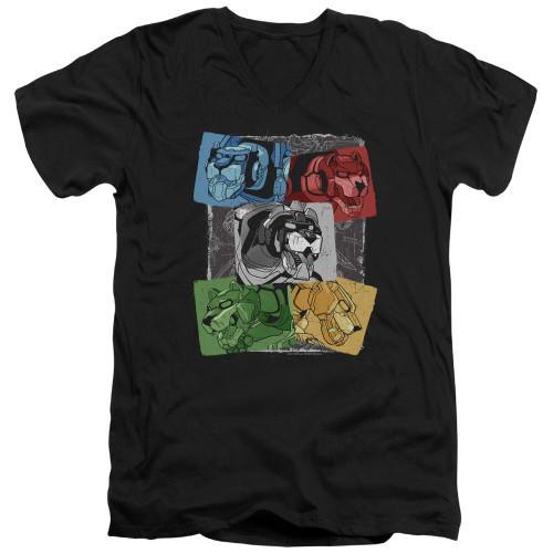 Image for Voltron: Legendary Defender V Neck T-Shirt - Pride