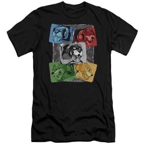 Image for Voltron: Legendary Defender Premium Canvas Premium Shirt - Pride