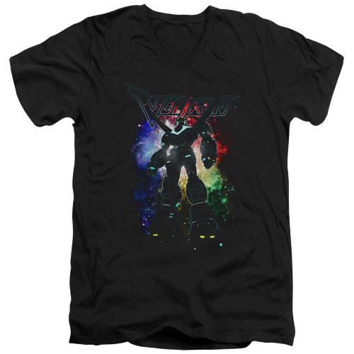 Image for Voltron: Legendary Defender V Neck T-Shirt - Galactic Defender