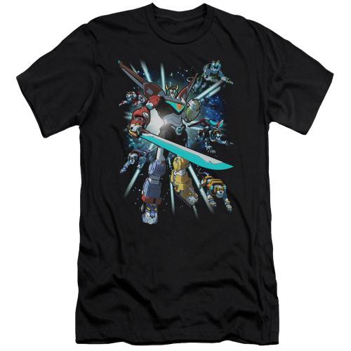 Image for Voltron: Legendary Defender Premium Canvas Premium Shirt - Lions Share