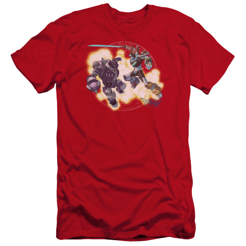 Image for Voltron: Legendary Defender Premium Canvas Premium Shirt - Robeast