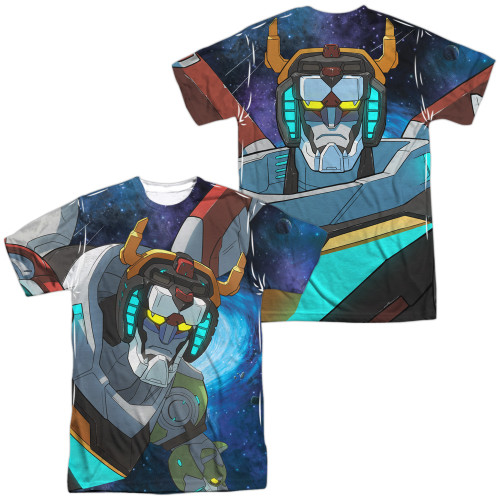 Image for Voltron: Legendary Defender Sublimated T-Shirt - In Space 100% Polyester