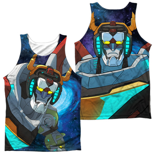 Image for Voltron: Legendary Defender Sublimated Tank Top - In Space