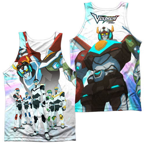 Image for Voltron: Legendary Defender Sublimated Tank Top - Team