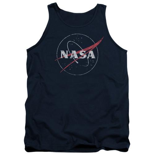 Image for NASA Tank Top - Distressed Logo