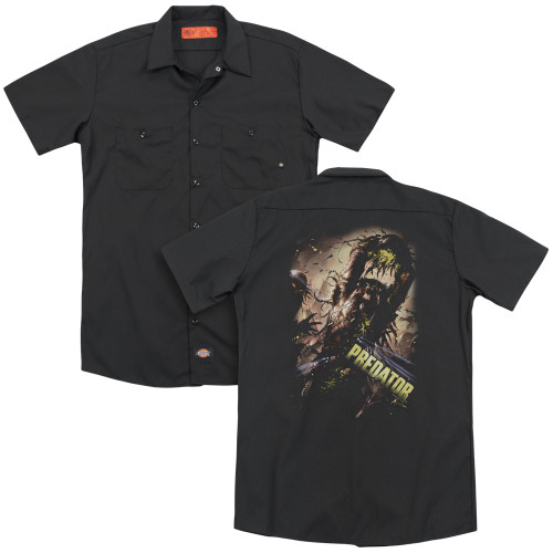 Image for Predator Dickies Work Shirt - Heads Up