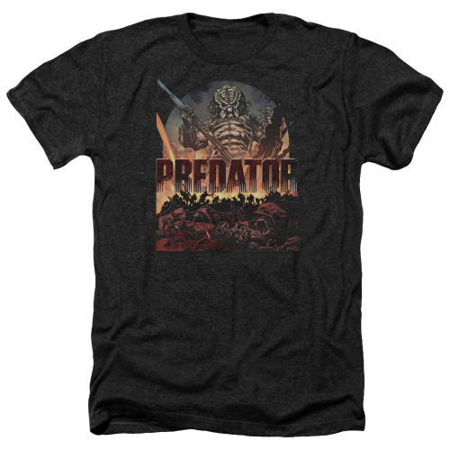 Image for Predator Heather T-Shirt - Battle