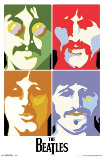 Image for The Beatles Poster - Sea of Science