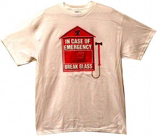 Trojan In Case of Emegency Break Glass T-Shirt Image 3