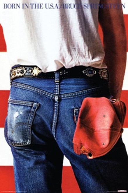 Image for Bruce Springsteen Poster- Born in the USA