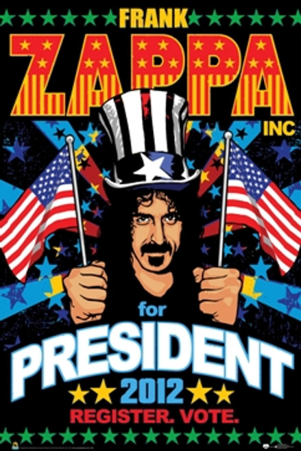 Image for Frank Zappa Poster