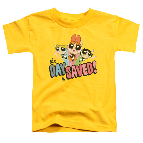 Image for The Powerpuff Girls Toddler T-Shirt - The Day is Saved