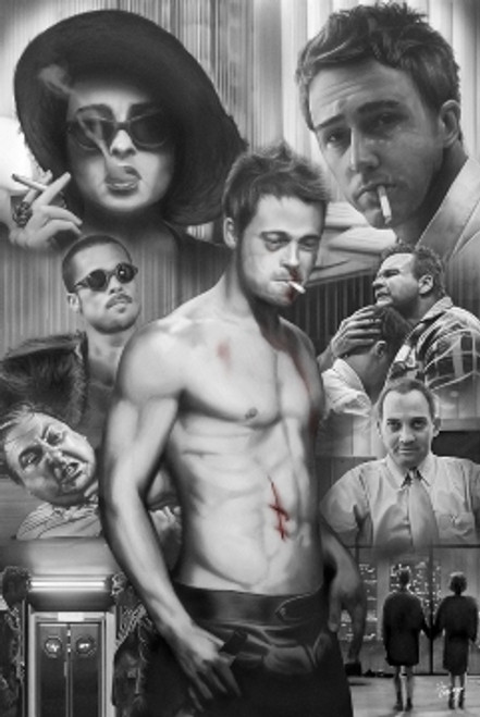 Image for Fight Club Posters - Collage