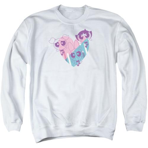 Image for The Powerpuff Girls Crewneck - Heart
