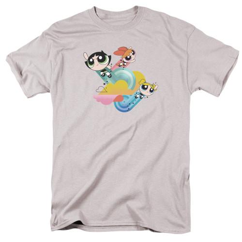 Image for The Powerpuff Girls T-Shirt - Spiral Streaks
