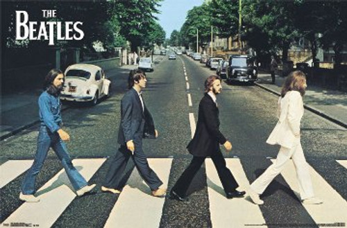 Image for The Beatles Poster - Abbey Road