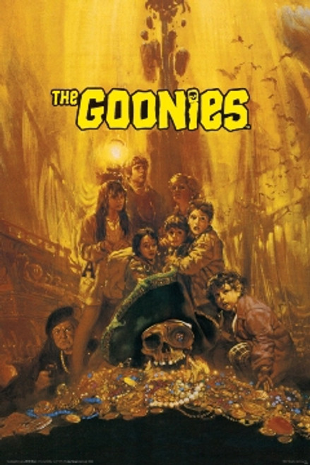 Image for The Goonies Poster - Treasure