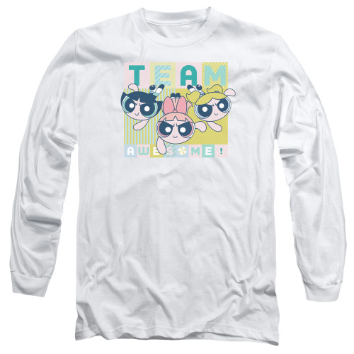 Image for The Powerpuff Girls Long Sleeve Shirt - Awesome Block