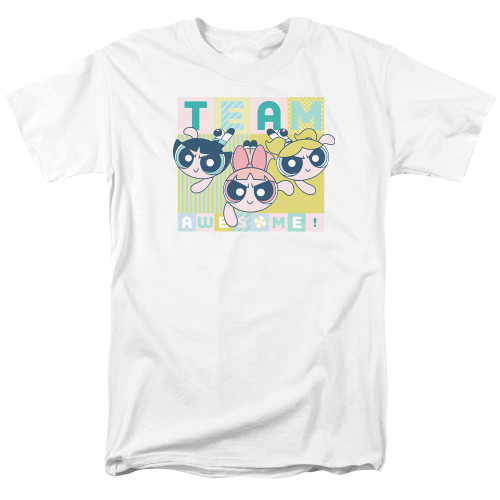 Image for The Powerpuff Girls T-Shirt - Awesome Block