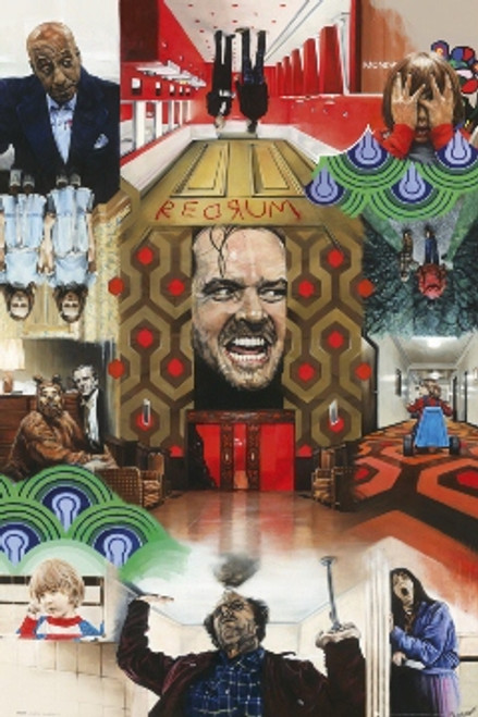 Image for The Shinning Poster - Collage